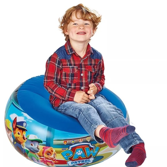 Sensational Paw Patrol Blow Up Chair For Kids Boutique Theyellowbook Wood Chair Design Ideas Theyellowbookinfo